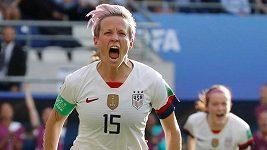 Megan Rapinoeová, kapitánka amerického fotbalového týmu
