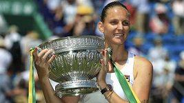 Karolína Plíšková vyhrála turnaj v Eastbourne