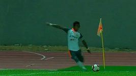 Gól přímo z rohu v malajsijské lize