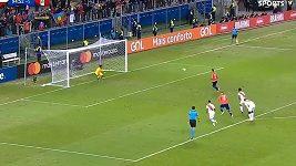 Brankář Peru si vychutnal panenkovskou penaltu