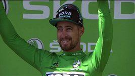 Peter Sagan při dojezdu na Tourmalet