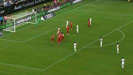 Parádní trefa osmnáctiletého mladíka v dresu Realu Madrid