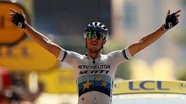 Vítězem 17. etapy na Tour de France se stal italský cyklista Matteo Trentin