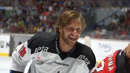 David Pastrňák si zahrál v týmu s Jaromírem Jágrem. Pořád je tam na co koukat a je co se od něj učit