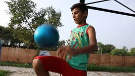 Dvanáctiletý fotbalista nosí přezdívku Indický Messi.