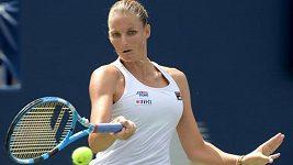 Česká tenistka Karolína Plíšková si na turnaji v Torontu zahraje čtvrtfinále