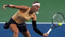 Sestřih zápasu druhého kola turnaje v Cincinnati Kvitová - Sakkariová