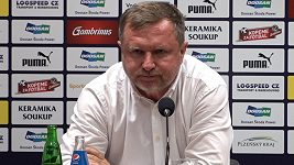 Odehráli jsem úžasný zápas a je škoda, že se nám nepovedlo postoupit, lituje plzeňský kouč Pavel Vrba