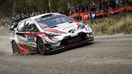 Tänak vyhrál potřetí za sebou Německou rallye.