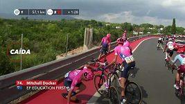 Nizozemský cyklista Jakobsen vyhrál na Vueltě sprinterský dojezd čtvrté etapy