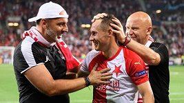 Musíte mít obrovské štěstí na lidi kolem sebe, takový recept na úspěch má trenér Slavie Jindřich Trpišovský