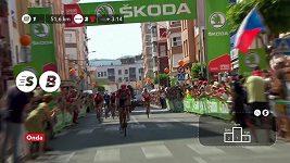 Kolumbijec López se vrátil na Vueltě do červeného dresu lídra. Sedmou etapu vyhrál Španěl Valverde