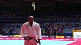 Portugalec Jorge Fonseca oslavil titul světového šampiona v judu do 100 kg tancem
