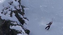 Děsivý pád extrémní lyžařky Jennie Symonsové