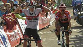 Sestřih 13. etapy cyklistické Vuelty