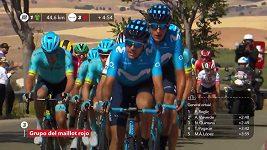 Belgičan Gilbert ovládl na Vueltě 17. etapu
