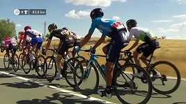 Sestřih 18. etapy cyklistické Vuelty