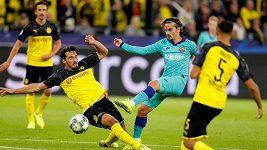 Sestřih utkání Ligy mistrů Dortmund - Barcelona
