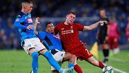 Sestřih utkání Ligy mistrů Neapol - Liverpool