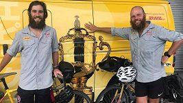 Brit James Owens a Jihoafričan Ron Rutland zdolali přes 20 tisíc kilometrů
