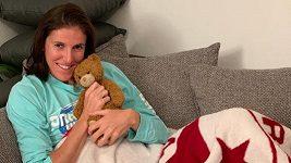 Vítězství Slavie potěšilo před odletem na mistrovství světa i překážkářku Zuzanu Hejnovou