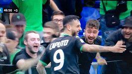 Italskému fotbalistovi se oslava s fanoušky nevydařila úplně podle jeho představ.
