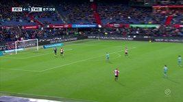 Brankář Twente daroval Feyenoordu pátý gól