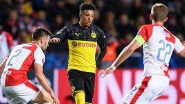 Sestřih zápasu Ligy mistrů Slavia - Dortmund