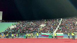 Fanoušci na kvalifikačním zápase mezi Bulharskem a Británií řvali jako opice