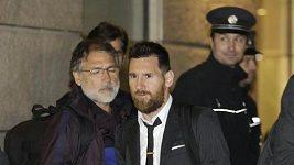 Messi a spol. přijeli do Prahy