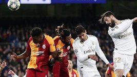 Sestřih zápasu Ligy mistrů Real Madrid - Galatasaray Istanbul