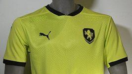 Překvapení. Taková byla reakce hráčů na barvu nových venkovních dresů české fotbalové reprezentace