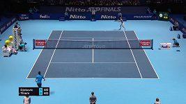 Dominic Thiem porazil Novaka Djokoviče