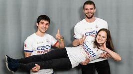 Odtajněno. Čeští olympionici budou mít na oblečení pro Tokio gymnastickou figuru i nápis v japonštině