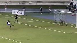 Kuriozní penalta v Brazílii