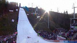 Nor Tande vyhrál závod SP skokanů na lyžích ve Wisle