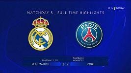 Sestřih utkání Real - PSG