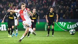 Sestřih utkání Ligy mistrů Slavia - Inter Milán