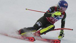 Slalom SP v Killingtonu vyhrála Mikaela Shiffrinová.