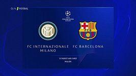 Sestřih zápasu Ligy mistrů Inter Milán - Barcelona