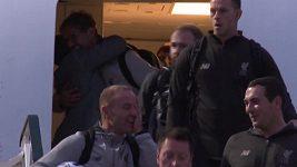 Trenér Liverpoolu Klopp se loučil s letuškou