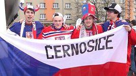 Hokejoví fanoušci obsazují Ostravu. Na úvodní zápas českého týmu proti Rusku je vyprodáno