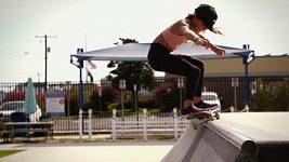 Jedenáctiletá skateboardistka Sky Brownová se chce kvalifikovat na olympiádu