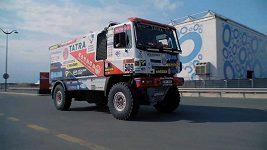 Buggyra na přejímkách na Dakaru