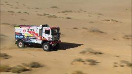 Tým Buggyra v drsné 4. etapě Dakaru