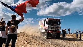 Buggyra v 6. etapě Dakaru