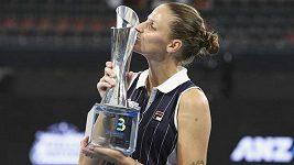 Karolína Plíšková vyhrála turnaj v Brisbane