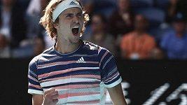 Zápasové sestřihy z Australian Open: Medveděv, Thiem, A. Zverev, Monfils