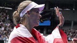 Caroline Wozniacká odehrála svůj poslední zápas kariéry