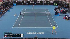 Tsitsipas prohrál ve 3. kole Australian Open s Raonicem